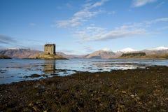 argyll城堡苏格兰潜随猎物者 图库摄影