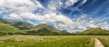 Argyll and Bute Panorama Royalty Free Stock Images