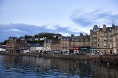argyll oban προκυμαία της Σκωτίας Στοκ Φωτογραφία