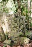 Arhat Kanakbharadvaja statue Stock Images