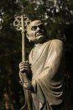 Arhat Kanakbharadvaja statue Stock Photo