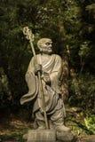 Arhat Kanakbharadvaja statue Stock Photos