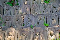 Arhats στο βουδιστικό ναό Daien, Τόκιο, Ιαπωνία Στοκ φωτογραφία με δικαίωμα ελεύθερης χρήσης
