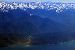 Arhavi, montanhas de Artvin Imagem de Stock