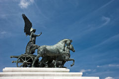 Arhicteture in Rome Royalty Free Stock Photos