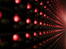 Arhitectire van Lichten Stock Afbeelding