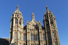 Arhitectur detail of Houses of Parliament, London. Royalty Free Stock Images