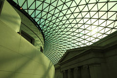 Arhitectural detalj av taket Royaltyfri Fotografi
