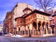 Arhitecture εκκλησιών, Βουκουρέστι Στοκ φωτογραφία με δικαίωμα ελεύθερης χρήσης