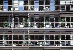 arhitecture που χτίζει το σύγχρονο Στοκ Φωτογραφία