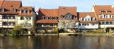 Arhitecture της Βαμβέργης Στοκ Εικόνες