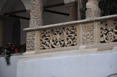 Arhitecture του μοναστηριού Horezu Στοκ εικόνες με δικαίωμα ελεύθερης χρήσης