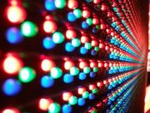 Arhitecture av ljusdioder Fotografering för Bildbyråer