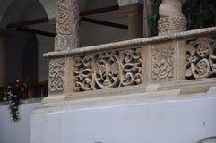 Arhitecture del monastero di Horezu Immagini Stock Libere da Diritti