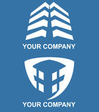 Arhitecture logo. For your company Stock Image