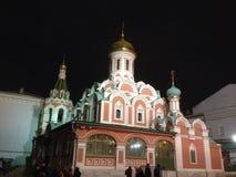 arhitektury大教堂有历史的喀山纪念碑 库存图片
