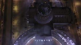 arhitektury大教堂有历史的喀山纪念碑 股票视频