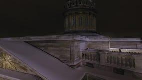 arhitektury大教堂有历史的喀山纪念碑 影视素材