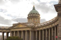 arhitektury大教堂有历史的喀山纪念碑 免版税库存照片