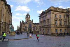 Arhitescture in Engeland Royalty-vrije Stock Afbeelding
