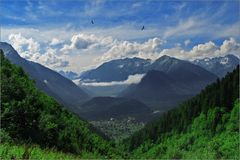 arhyz βουνά Στοκ Εικόνες