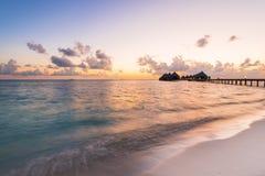 Ari Atoll immagine stock
