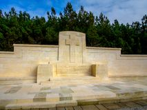 Ari Burnu cmentarz, Gallipoli Obraz Royalty Free