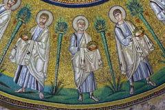 Ariański baptysterium, Ravenna, Włochy Obrazy Royalty Free