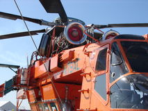 Aria Crane Turbine Helicopter di Erickson Fotografia Stock Libera da Diritti