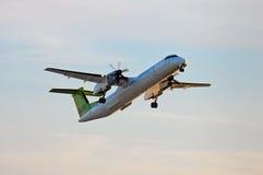 Aria de Havilland baltico DHC-8 Immagini Stock
