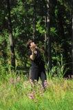 Aria de joie Image libre de droits