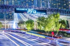 Aria de Las Vegas Photos libres de droits