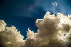 Aria del cielo Fotografia Stock Libera da Diritti