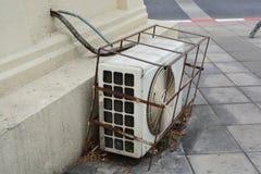 Aria del condensatore Immagini Stock