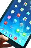 aria del iPad Fotografia Stock