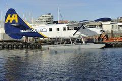 Aria del porto, Victoria BC, il Canada Fotografia Stock