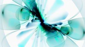 Aria delle bolle Farfalla astratta Fotografia Stock