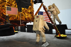 Aria di Smithsonian e museo di spazio Immagini Stock