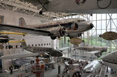 Aria di Smithsonian e museo di spazio Fotografie Stock Libere da Diritti