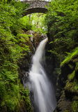 Aria Force Falls. Near Ullswater in Lake District Royalty Free Stock Images