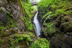Aria Force Falls. Near Ullswater in Lake District Stock Photo