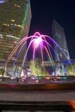 Aria Fountain imagem de stock royalty free