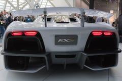 Aria FXE on display during LA Auto Show Royalty Free Stock Photos