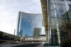 Aria Hotel and Casino Royalty Free Stock Photography