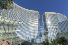 The Aria Hotel, Casino in Las Vegas, NV on May 18, 2013 Stock Image