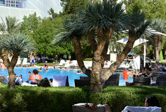 ARIA Hotel et casino Image libre de droits