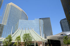 Aria Hotel Las Vegas Royalty Free Stock Image
