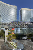 The Aria Hotel in Las Vegas, NV on May 18, 2013 Stock Photos