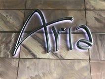 Aria. Hotel lasvegas vegas USA Nevada Royalty Free Stock Photo