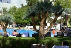 ARIA Hotel y casino Imagen de archivo libre de regalías